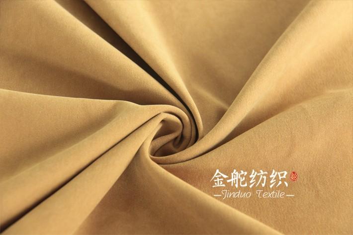 韩国绒豹纹印花细节图