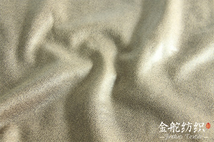 烫金皮毛一体小裂纹花型细节图