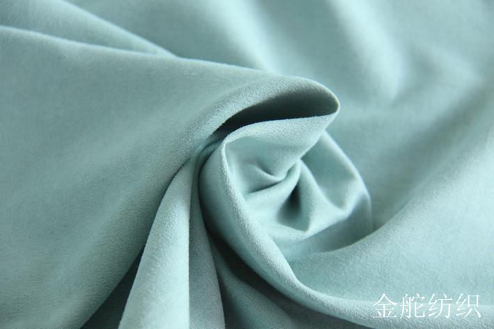 纬向麂皮绒,梭织,五枚麂皮绒,绒面细节图
