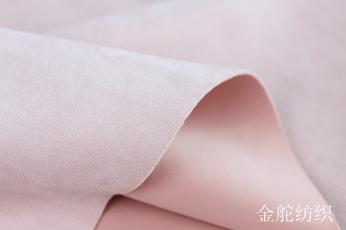 空气层麂皮绒绒面效果