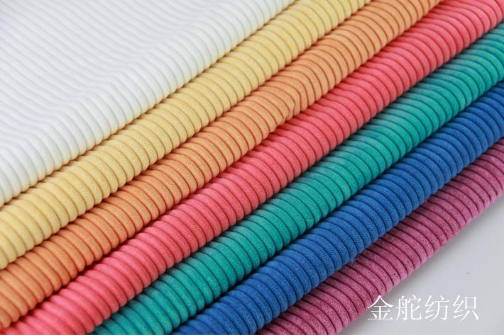 4.5条灯芯绒,锦涤灯芯绒,条绒玩具布料布面效果