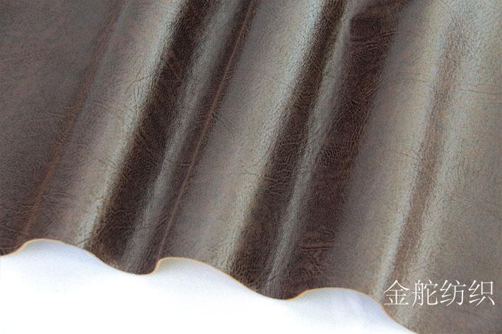咖啡色麂皮绒沙发布细节