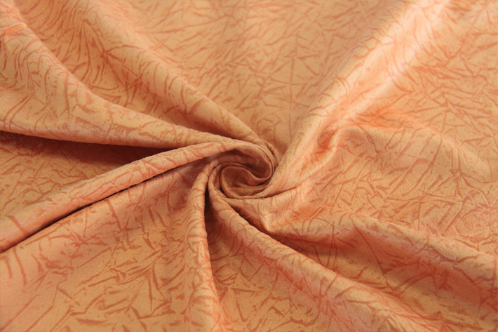 压胶麂皮绒,绒面柔软,顺滑