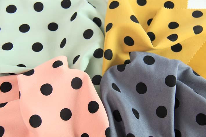 粉色,浅绿,亮黄,灰色,牛仔兰等颜色印花韩国绒效果