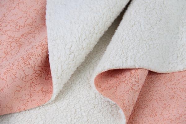 烫金麂皮绒复合梳棉绒